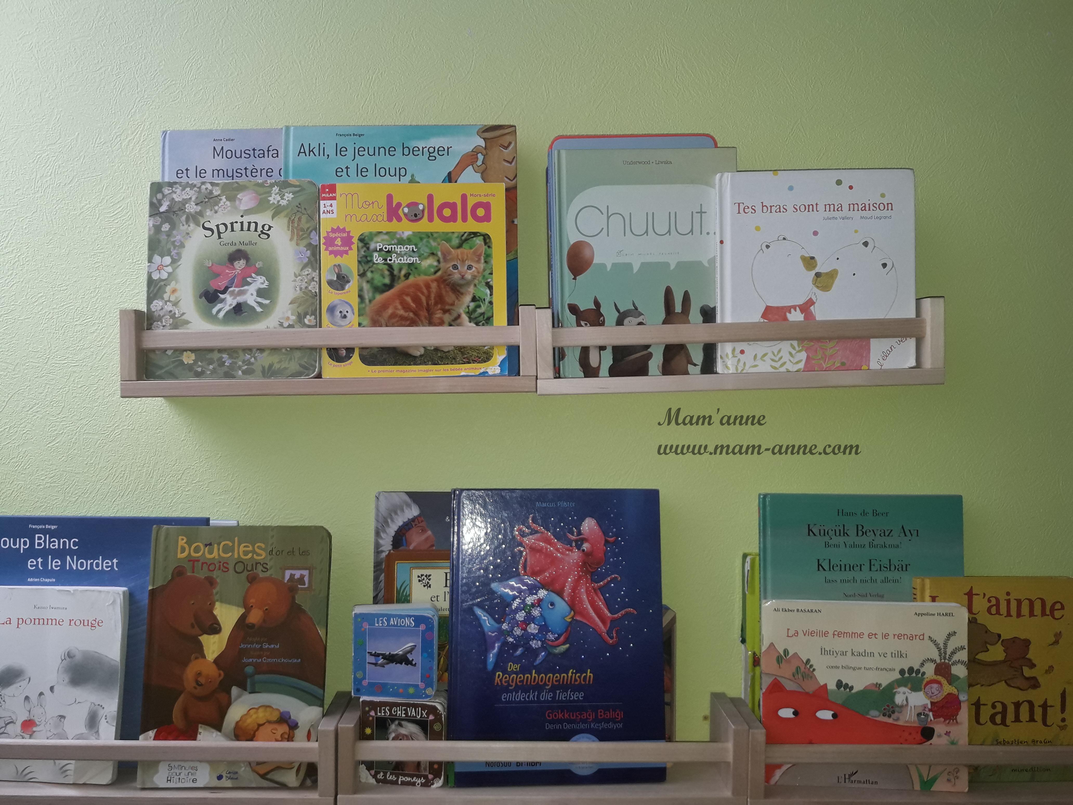 Bibliothèque jeunesse livres pour enfants bébés