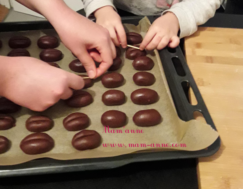 Recette biscuit grains de café activité enfant pluie