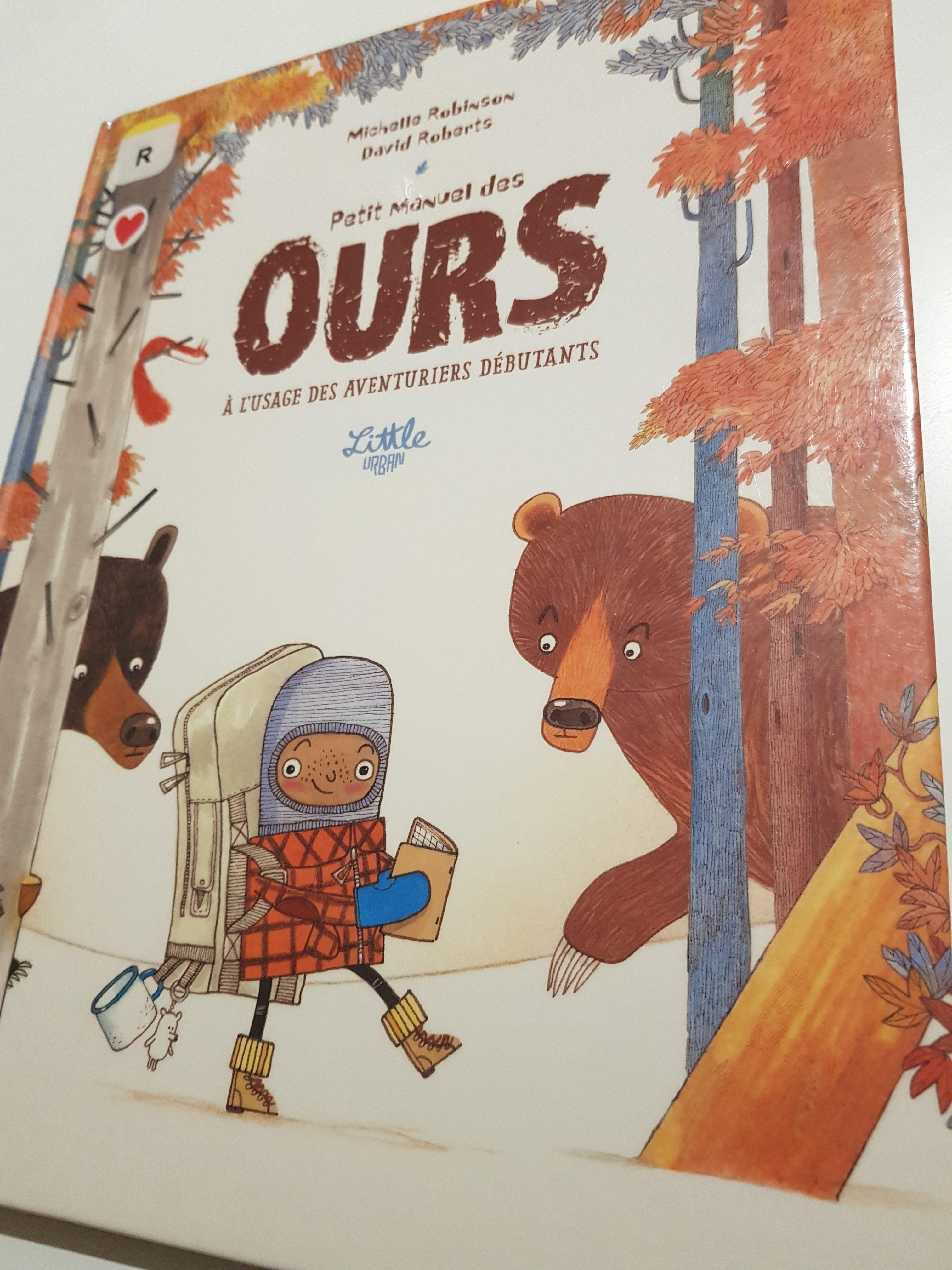 petit manuel des ours à l'usage des débutants michelle robinson