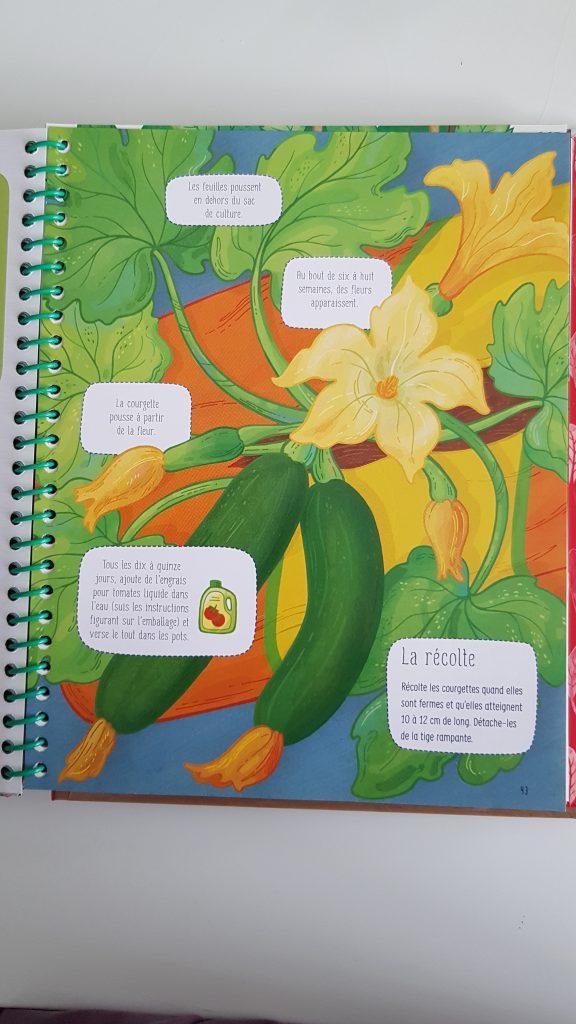 livre je cultive mon potager usborne