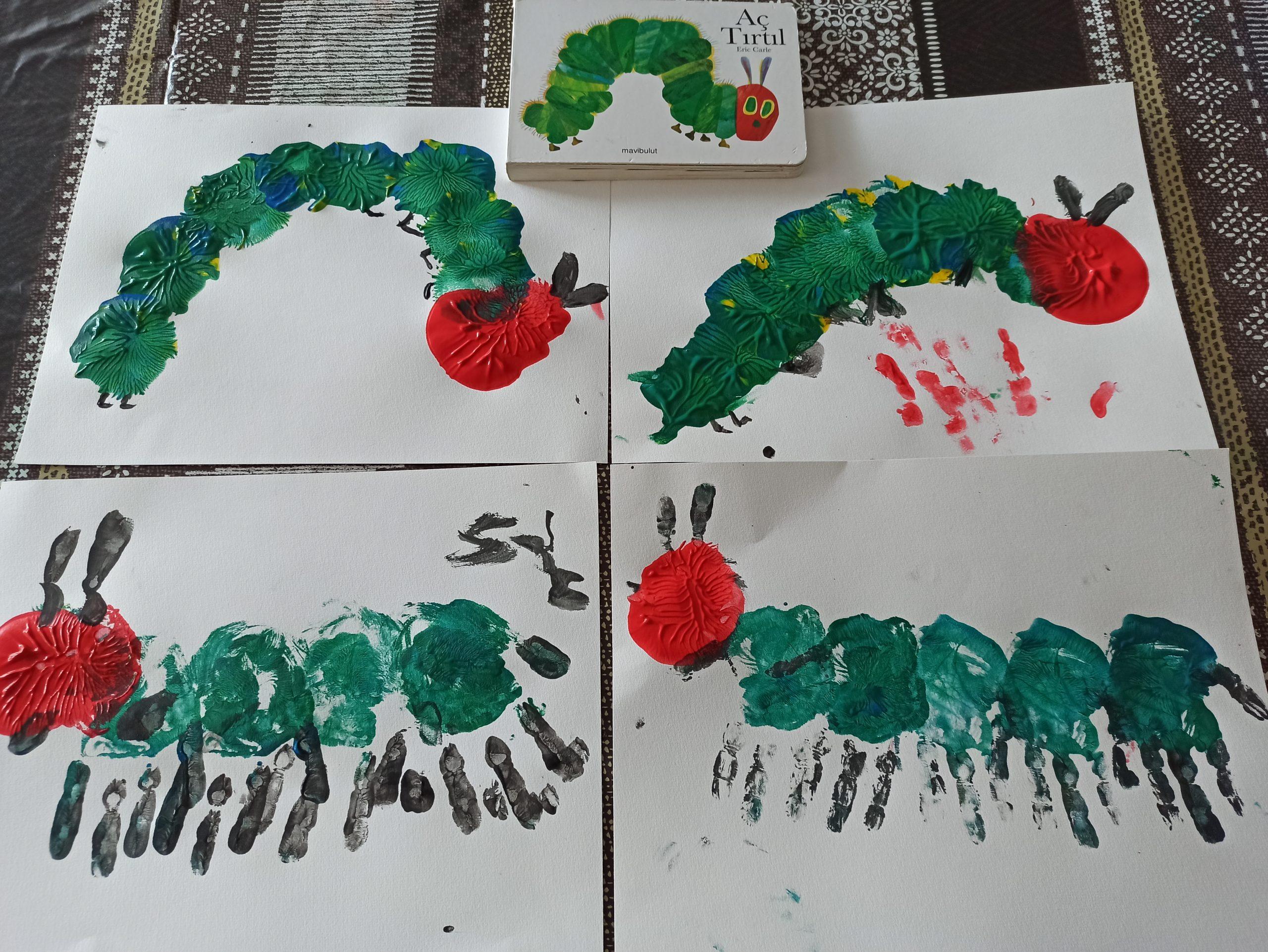 peinture chenille trous