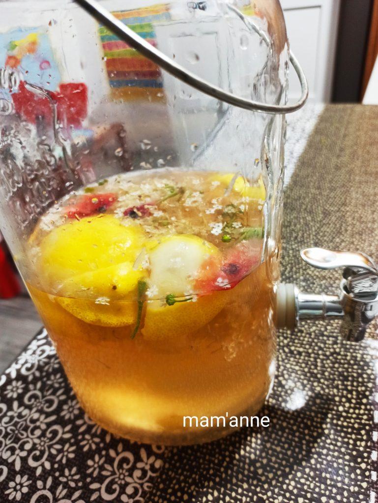 recette limonade fleurs sureau
