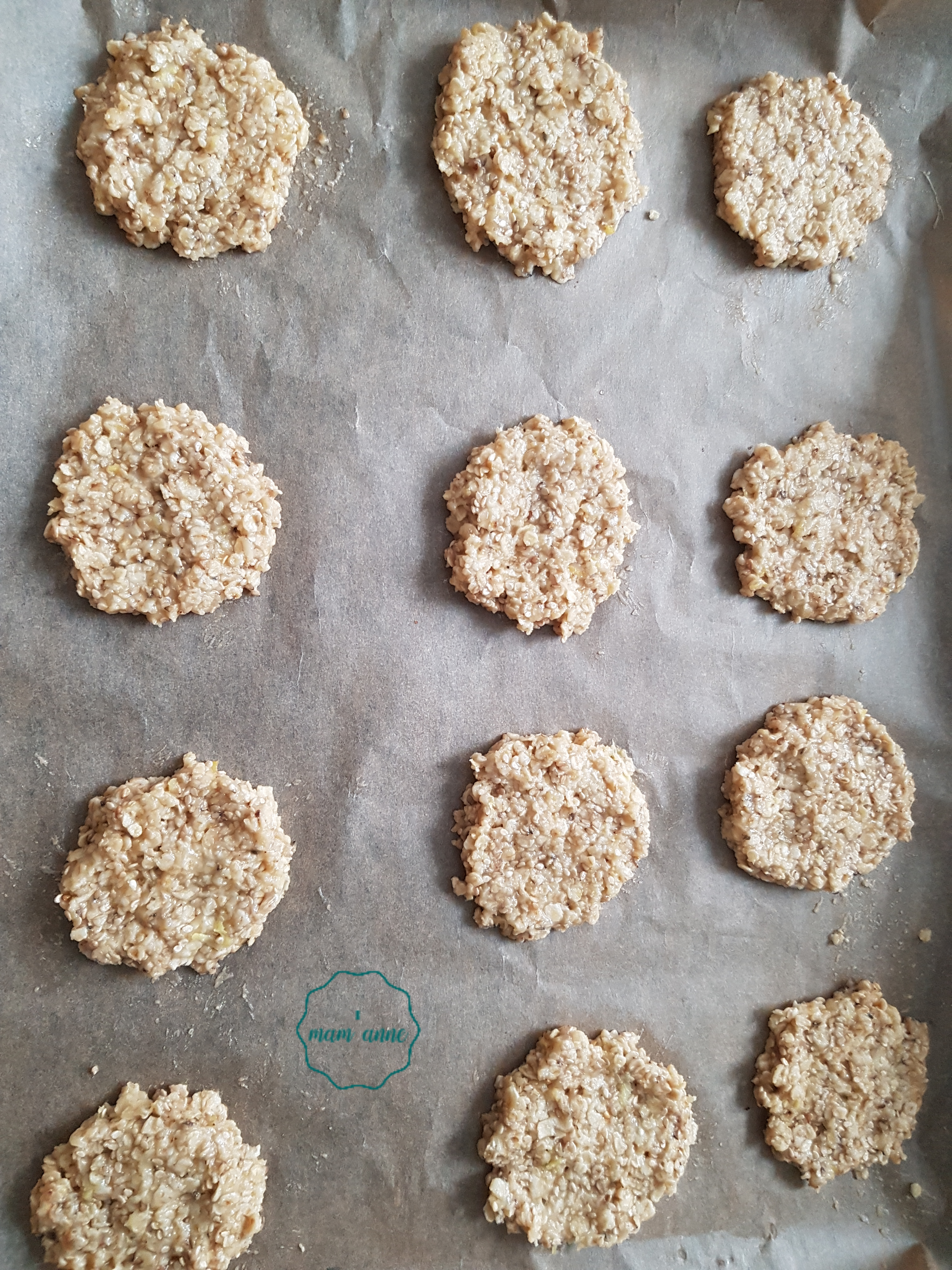 cookies avoine gingembre